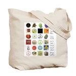 """52 Weeks of Peace"" Tote Bag"