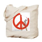 "Week 28: ""52 Weeks of Peace"" Tote Bag"