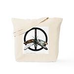 """Week 6: """"52 Weeks of Peace"""" Tote Bag"""