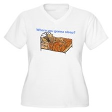 CBr Where you gonna sleep T-Shirt
