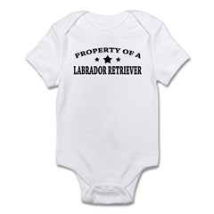 Property of Lab Infant Bodysuit