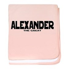Alexander the Great baby blanket