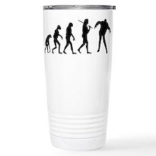 The Evolution Of Zombies Travel Mug