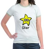 Women's Ringer T-Shirt - Star