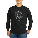 Fibonacci Bats Long Sleeve Dark T-Shirt