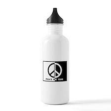 Peace Or Else Water Bottle