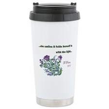 With the Light Ceramic Travel Mug