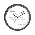 Affinity of Love ~ Wall Clock