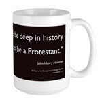 """Deep in history..."" Large Mug"