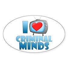 I Heart Criminal Minds Decal
