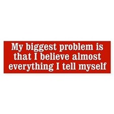 My Biggest Problem Bumper Sticker