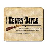Henry Rifle Mousepad