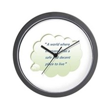 Funny Habitat for humanity Wall Clock