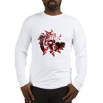 Fibonacci Bats Red Long Sleeve T-Shirt