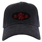 Fibonacci Bats Red Black Cap