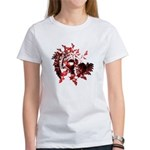 Fibonacci Bats Red Women's T-Shirt
