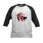 Fibonacci Bats Red Kids Baseball Jersey