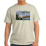 Renoir Painting: Art & Beauty Ash Grey T-Shirt