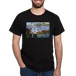 Renoir Painting: Art & Beauty Black T-Shirt