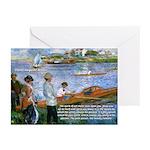 Renoir Painting: Art & Beauty Greeting Cards (Pack