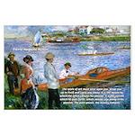 Renoir Painting: Art & Beauty Large Poster