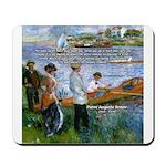 Renoir Painting: Art & Beauty Mousepad