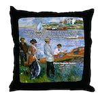 Renoir Painting: Art & Beauty Throw Pillow