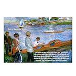 Renoir Painting: Art & Beauty Postcards (Package o