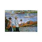 Renoir Painting: Art & Beauty Rectangle Magnet (10