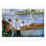 Renoir Painting: Art & Beauty Small Poster