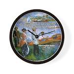 Renoir Painting: Art & Beauty Wall Clock