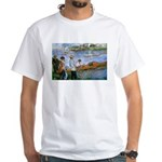 Renoir Painting: Art & Beauty White T-Shirt
