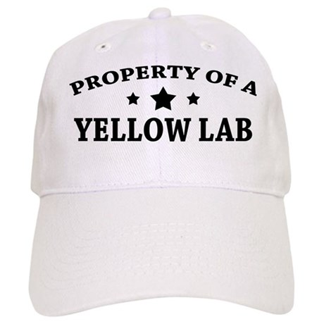 Property of a Yellow Lab Cap