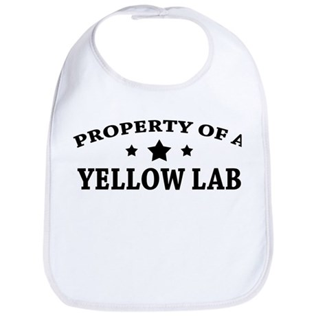 Property of a Yellow Lab Bib