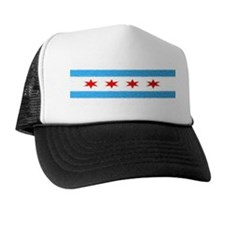 City of Chicago Flag Trucker Hat