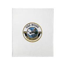 USS BOISE Throw Blanket