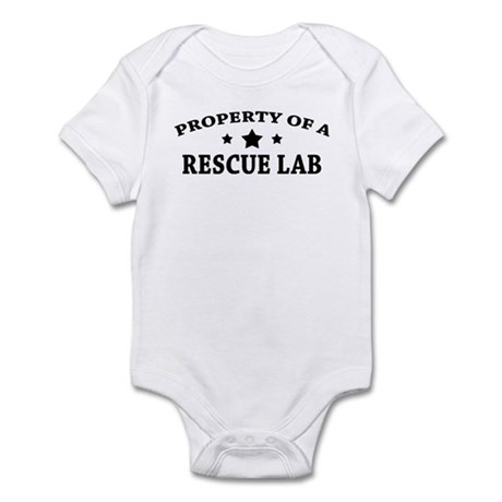Property of a Rescue Lab Infant Bodysuit