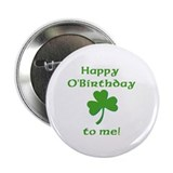Happy O'Birthday!! 2.25&quot; Button (100 pack)