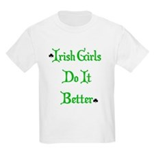 Irish Girls Kids T-Shirt