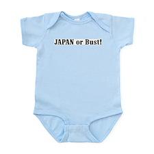 Japan or Bust! Infant Creeper