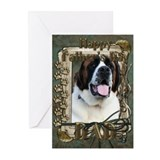 Father's Day - Stone Paws Greeting Cards (Pk of 10