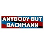 Anybody But Bachmann bumper sticker