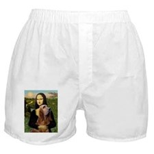 Mona & her Bloodhound Boxer Shorts