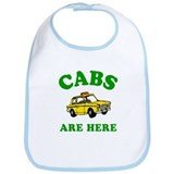 Cabs Are Here Bib