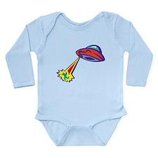 Alien Abduction Long Sleeve Infant Bodysuit