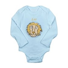 Leo Astrology 4 Long Sleeve Infant Bodysuit