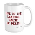 Life and Death Large Mug