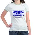 Gamer (Summoning Department) Jr. Ringer T-Shirt