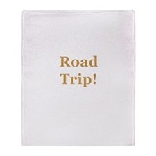 Road Trip! Throw Blanket