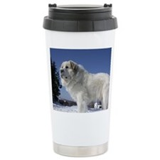 Great Pyrenees Ceramic Travel Mug